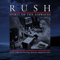 Rush - Spirit of the Airwaves Back to Black 180 Gram  Ltd. Ed. Coloured Vinyl
