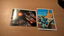 The Transformers -1986 Panini 2 Klebebilder Nr. 5 und Nr. 142 Hasbro