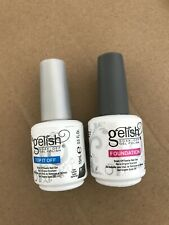 UV Gel  Gelish Top Coat + Base Coat ** Soak-Off UK** Foundation+Top it off NEW
