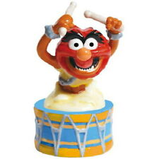 The Muppets Animal Playing the Drums Ceramic Salt and Pepper Shakers NEW SEALED