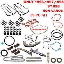 Timing Chain Guide Rail Set 59 pcs Kit FOR BMW E31 E39 E38 non Vanos 96-98