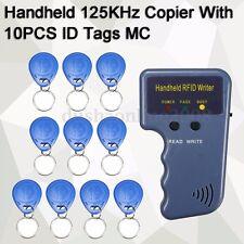 125KHz RFID Carte ID Copieur Lecteur Duplicateur + 10PCS ID Cartes/Clés Contrôle