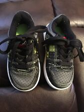 Lego brick Lace Up Sneakers/shoes Black/grey/green toddler Boys Sz 5M