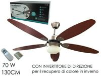 VENTILATORE DA SOFFITTO 5 PALE 130cm 586153 8015361090333 GENERAL TRADE S.p.A. P