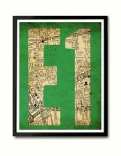 E1 Whitechapel, Spitalfields, Shoreditch East End Art Print