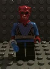 Lego Star Wars Custom Alien Jedi Knight with blue light saber
