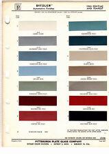 1964 PONTIAC BONNEVILLE TEMPEST GRAND PRIX CATALINA STAR CHIEF 64 PAINT CHIPS DZ