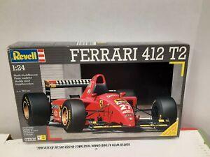 Revell 1/24 Ferrari 412 T2 Model #07207 Model Year 1996 Open Box/ Sealed Parts