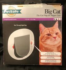 PetSafe big cat/small dog lockable in/out door installation kit,Nip but opened
