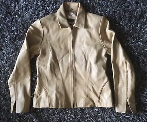 Ladies Real Leather Jacket. Principles Size 12