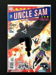 UNCLE SAM AND THE FREEDOM FIGHTERS #3 DC COMICS 2006 NM+