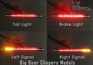 33 LED Bar Brake Tail Light & Left/Right Turn Signal Lamp for Big Bear Choppers