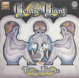 GENTLE GIANT - THREE FRIENDS - GATEFOLD CARD COVER - CD ALBUM - FREE UK POST