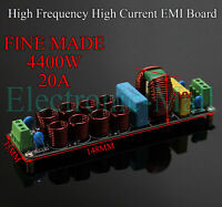 Sin Wave High Frequency 4400W 20A EMI Power Filter Assembled Board 4 Amplifier