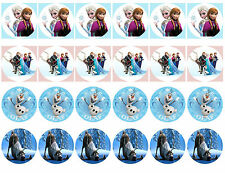 Frozen Cupcake Edible Icing Party Cake Topper Decoration Image Custom