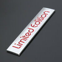 3D Red Metal Car Accessories Limited Edition Emblem Badge Car Sticker Decal Cool