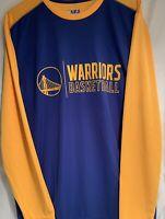 """Golden State Warriors Shirt Long Sleeve Fanatics NBA Brand """"Warriors Basketball"""""""