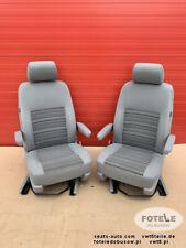 Seats VW T5 T6 front seat California armrests comfort adjustments SWIVEL Airbag