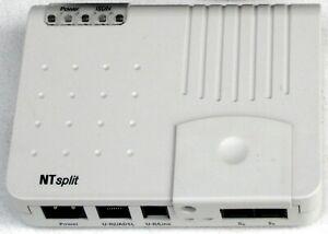Arcor NTsplit ▪ DSL-Splitter + NTBA, ISDN, split