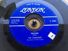 TORNADOS Telstar & Jungle Fever  LONDON Import 45 rpm Jukebox Surf Record