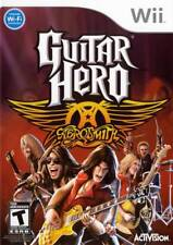 Guitar Hero: Aerosmith for Nintendo Wii / Wii U with guitar