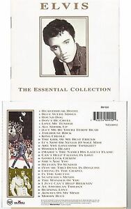 Elvis Presley [CD] The Essential Collection (1260) the wonder of you hound dog