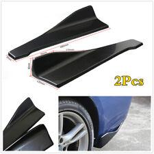 48cm Car Rear Bumper Side Skirt Fin Canard Splitter Diffuser Valence Spoiler Lip