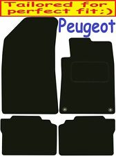 Tailored Deluxe Quality Car Mats Peugeot 508 RXH Hybrid 2010-2017 ** Black **