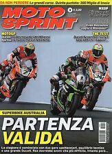 MotoSprint 2016 9#Superbike Australia,Romano Albesiano,Enea Bastianini,qqq