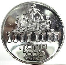 ISRAEL (HANUKKAH) 10 Lirot 1973 PROOF
