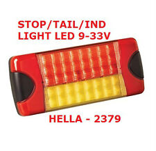 1x Replacement Stop/Tail/Indicator Light LED 9 to 33 Volt Combo Light HELLA 2379