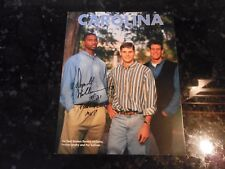 1994-95 Carolina Magazine with Donald Williams Inscribed Autograph on Cover