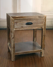 2 x Bedside Chests French Provincial Night Stand Rustic Side Style Bedside Table