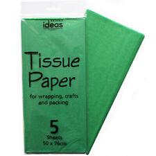 Tissue Paper 5 Sheet Pack - Emerald Green