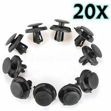 20X Fender Splash Shield Push Rivet Fastener Retainer Pin Clips For Toyota Mazda