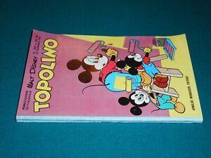 TOPOLINO LIBRETTO # 269 originale Walt Disney Arnoldo Mondadori Edit. 22/01/1961