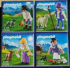 4X New Playmobil Promotional Sonderfigur 2019-Milka 70161 70162 70163 70164