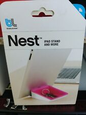 Bluelounge - Tablet iPad Stand Nest (Pink) Universal