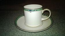 Wedgwood *NEW* Jade 5014530 Tasse à café droite 15cl avec soucoupe Coffee cup