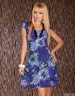 Miniabito Donna Vestitino Vestito Abito SWEET MISS A990 Tg L XL **