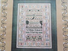 10% Off Moira Blackburn Samplers Counted X-stitch chart - How to sow beans
