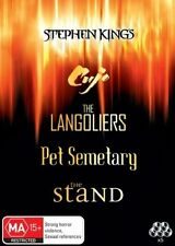 Stephen King Collection - Cujo / Langoliers / The Stand / Pet Semetary / Pet Sem