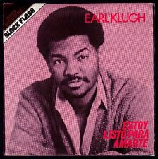 """EARL KLUGH - SPAIN 7"""" LIBERTY 1981 - I'M READY FOR YOUR LOVE / TWINKLE - PROMO"""