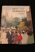 VTG Meet the Mormons Hardcover Book 1965 Intro to the Church of Later day Saints
