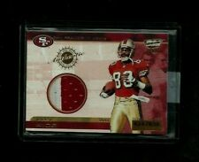 Jerry Rice Revolution 2000 Jersey 2-Color PATCH Relic #/828! RARE 49'ers LEGEND!
