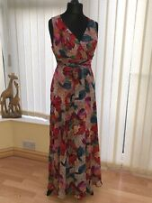Wallis Long Evening Summer Cruise Dress Size 14
