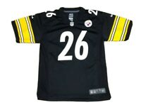 Le'Veon Bell #26 Pittsburgh Steelers NFL Nike On Field Black Jersey Youth Size L