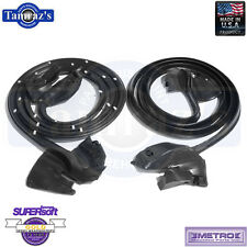69-70 GM B Body Full Size Door Weatherstrip Seals 2 Dr Hardtop Convertible LM18I