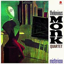 Monk*Thelonious Quartet Misterioso + 1 Bonus Track ltd Vinyl LP NEW sealed