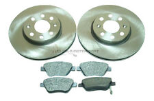 VAUXHALL CORSA D 2006-2014 1.2 16V SXi FRONT BRAKE DISCS AND PADS SET NEW